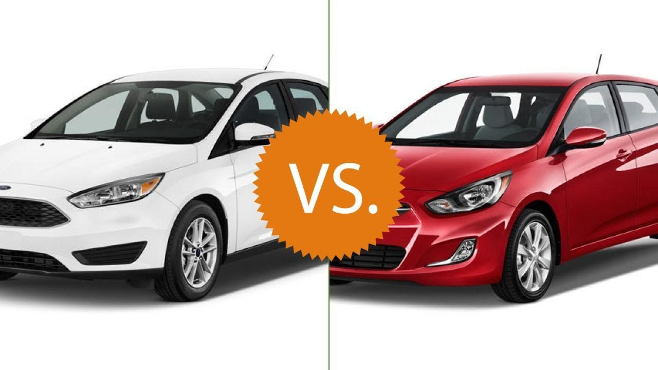 Compare 2016 Ford Focus Vs 2016 Hyundai Accent