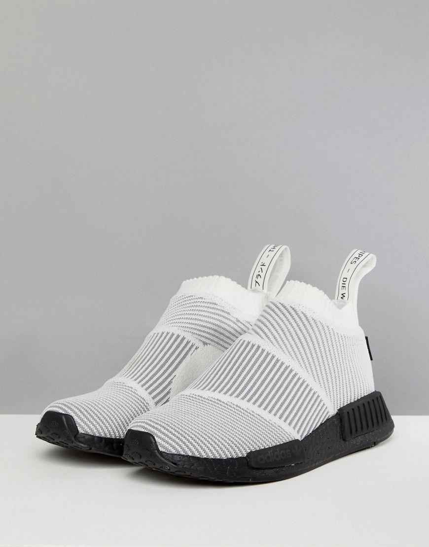 Adidas Originals NMD Cs1 Gore Tex Sneakers In White White
