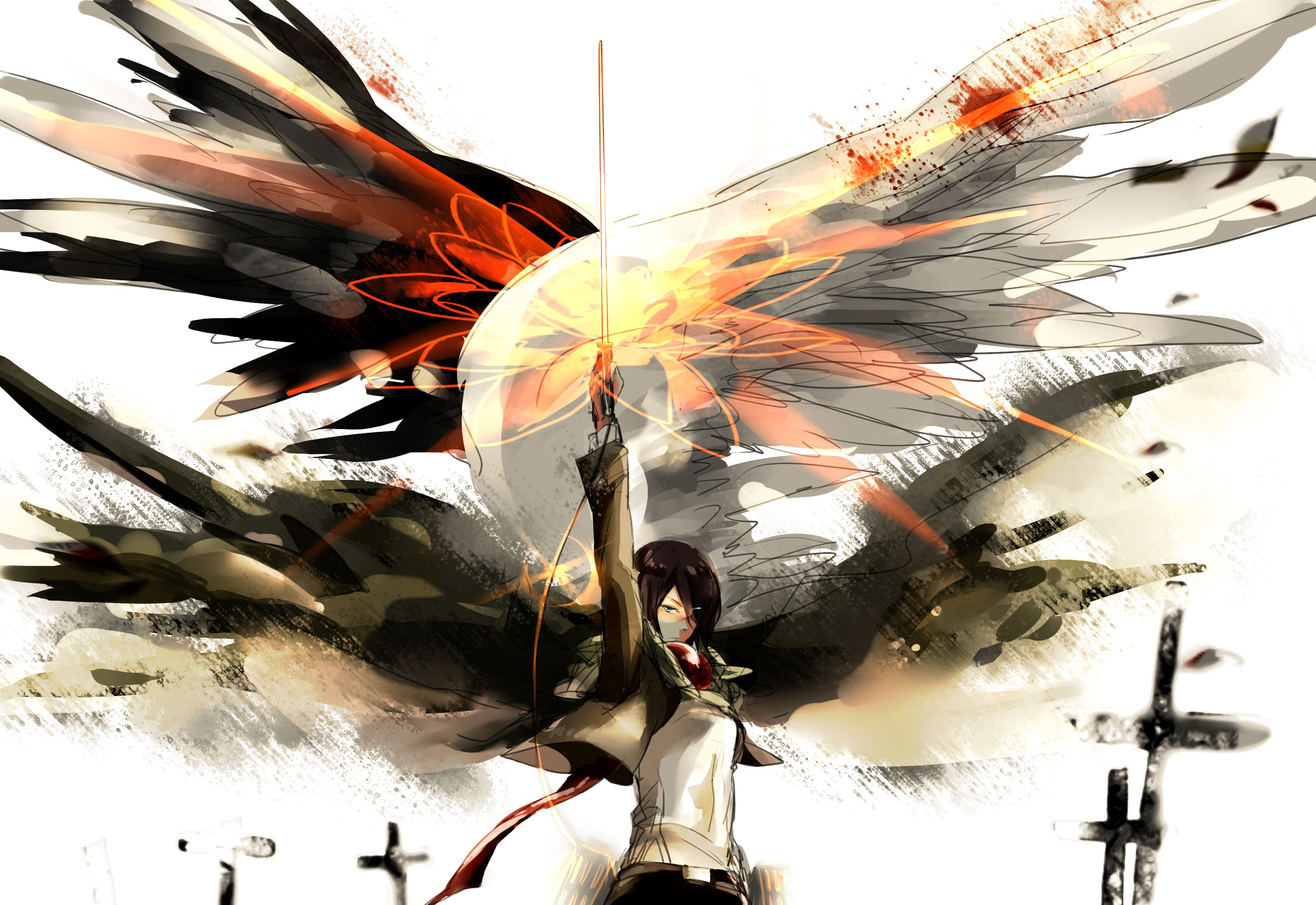 /Mikasa Ackerman/1545807 Zerochan (con imágenes