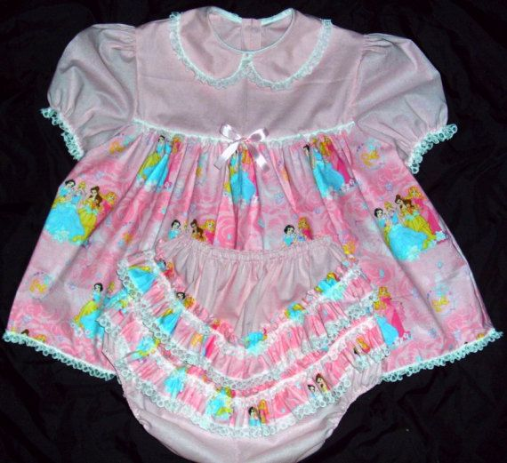 Adult baby doll dress inserts
