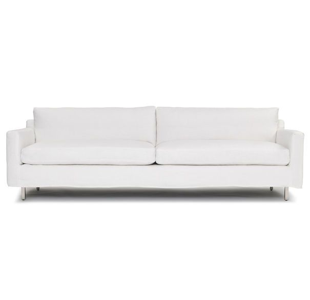 Exceptionnel Slipcovered Sofa Option From Mitchell Gold Does Not Have To Be White. I  Love The Style Of This One.