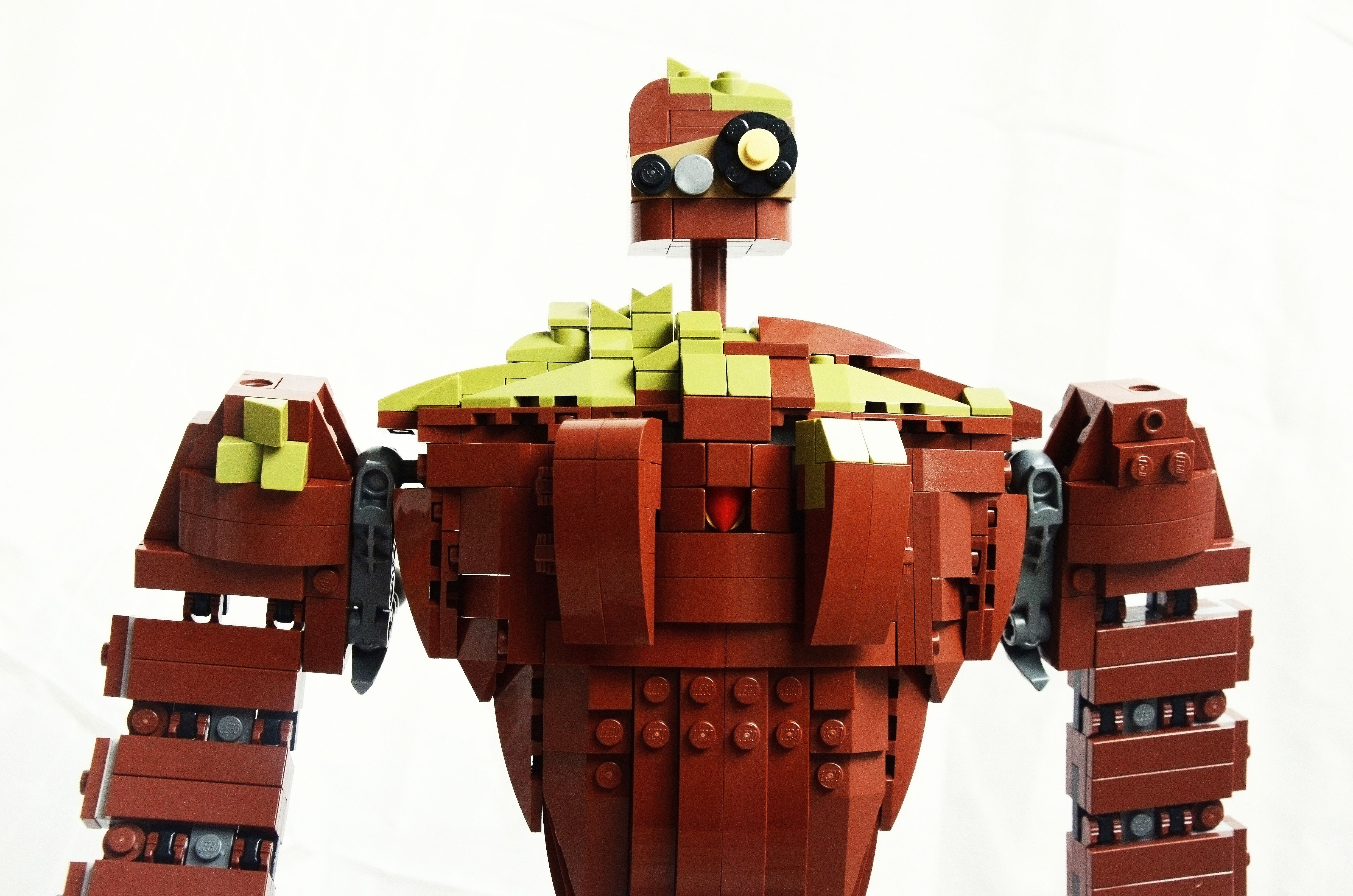 Laputa robot from lego bricks please support so it can