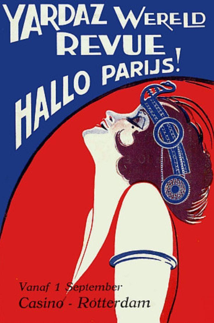 mistinguett vintage poster