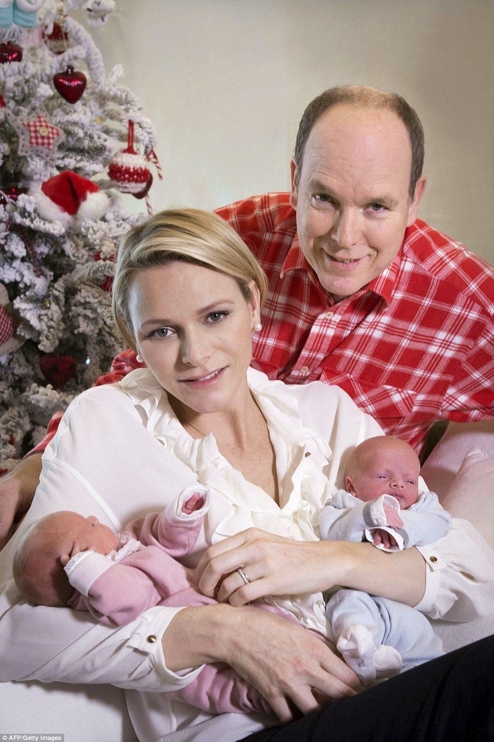 The Palace of Monaco have released a set of images of Prince Albert II of Monaco and his w...