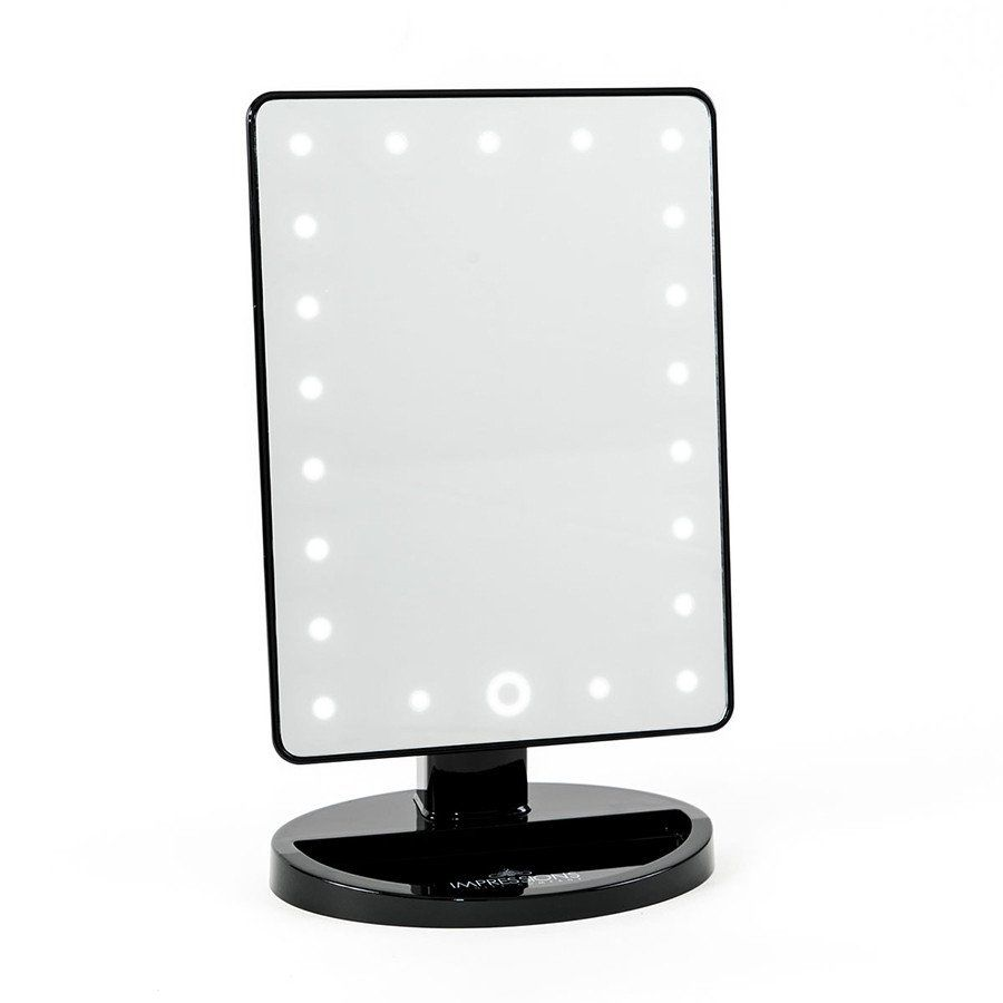 Touch 2 0 Dimmable Led Makeup Mirror In High Gloss Led