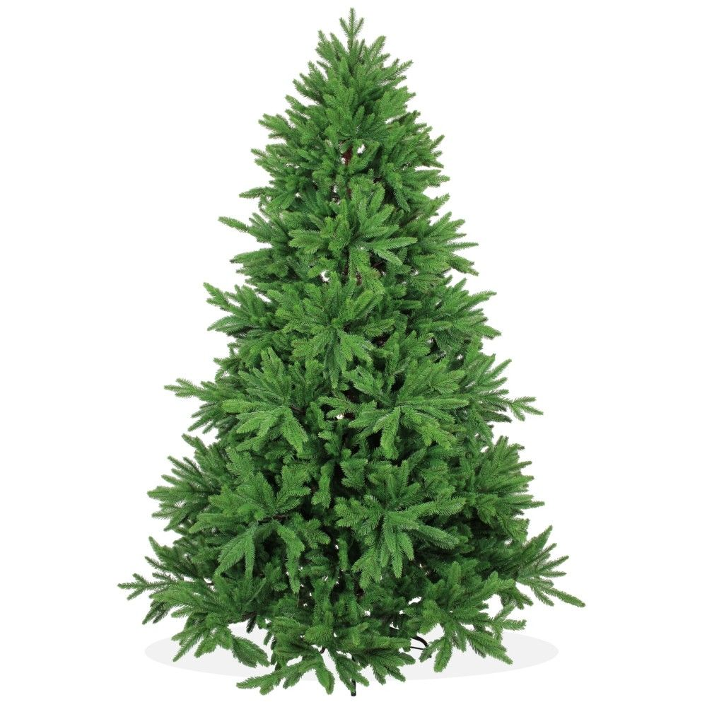 Künstliche Nordmanntanne Weihnachtsbaum.Künstlicher Weihnachtsbaum 210cm Deluxe Pe Spritzguss Grüner