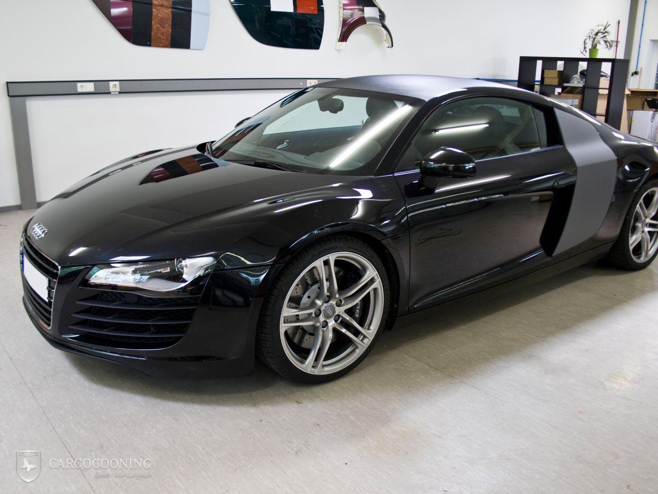 Folierung Eines Audi R8 Audi R8 Audi Folierung