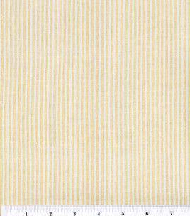 Sew Into Spring Seersucker Cotton Fabric Yellow Sale 2 79 Yard