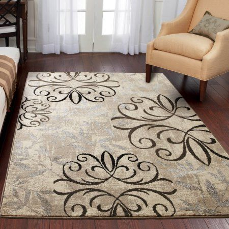 Better Homes Gardens Iron Fleur Area Rug Or Runner Size 5 X7 6