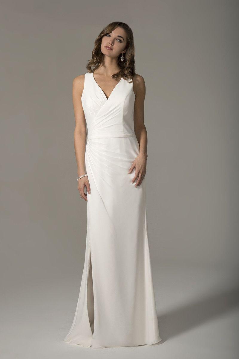 Wedding Dress Out Of Venus Bridal Vn6934 Structured And Elegant A V