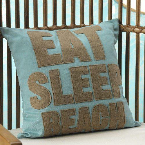Throw Pillows Beach Decor Life/'s A Beach Beach House Pillow Beach House Decor Beach Throw Pillow Throw Pillow Covers