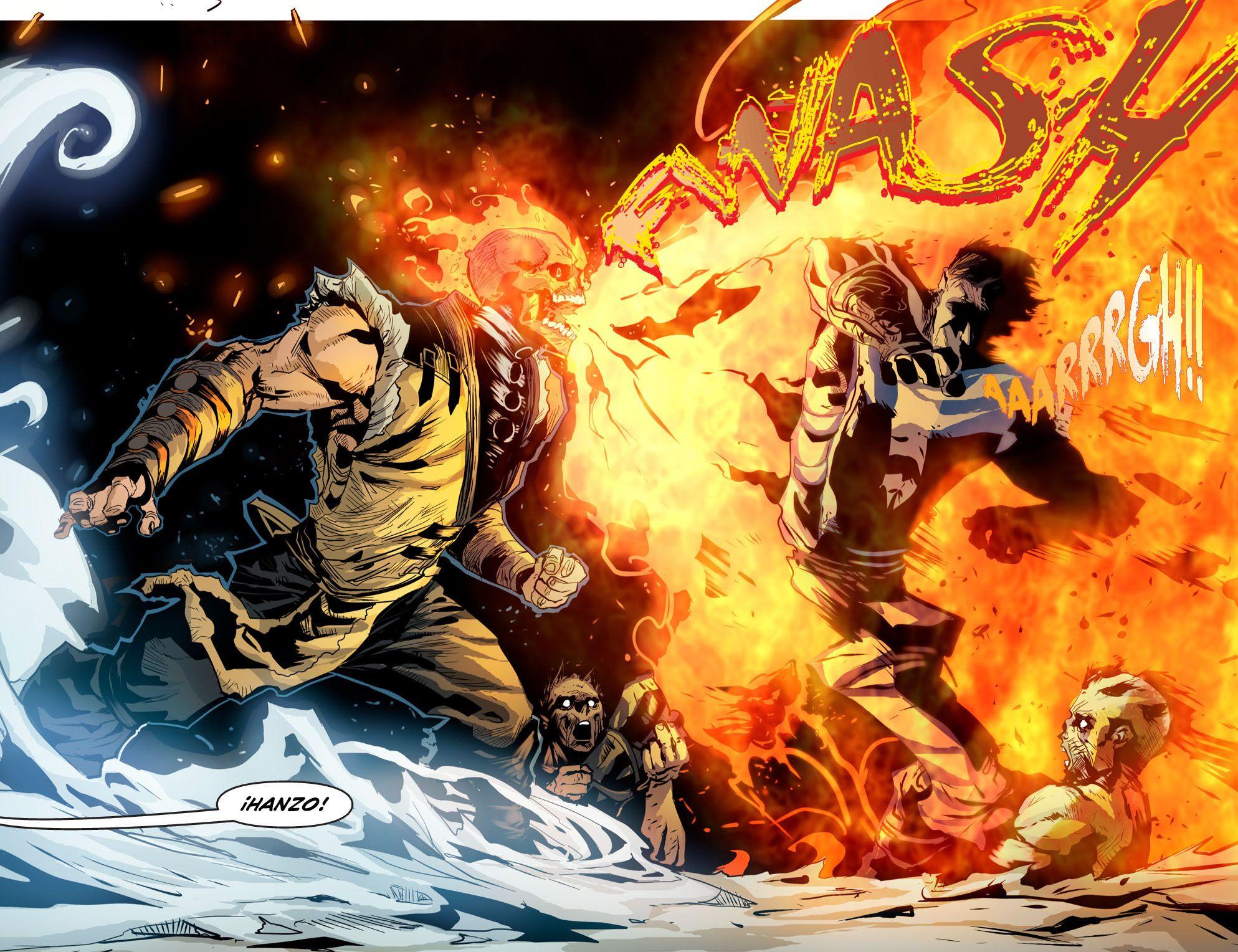 Me Baje El Comic De Mkx Y Te Lo Muestro 15 Mortal Kombat