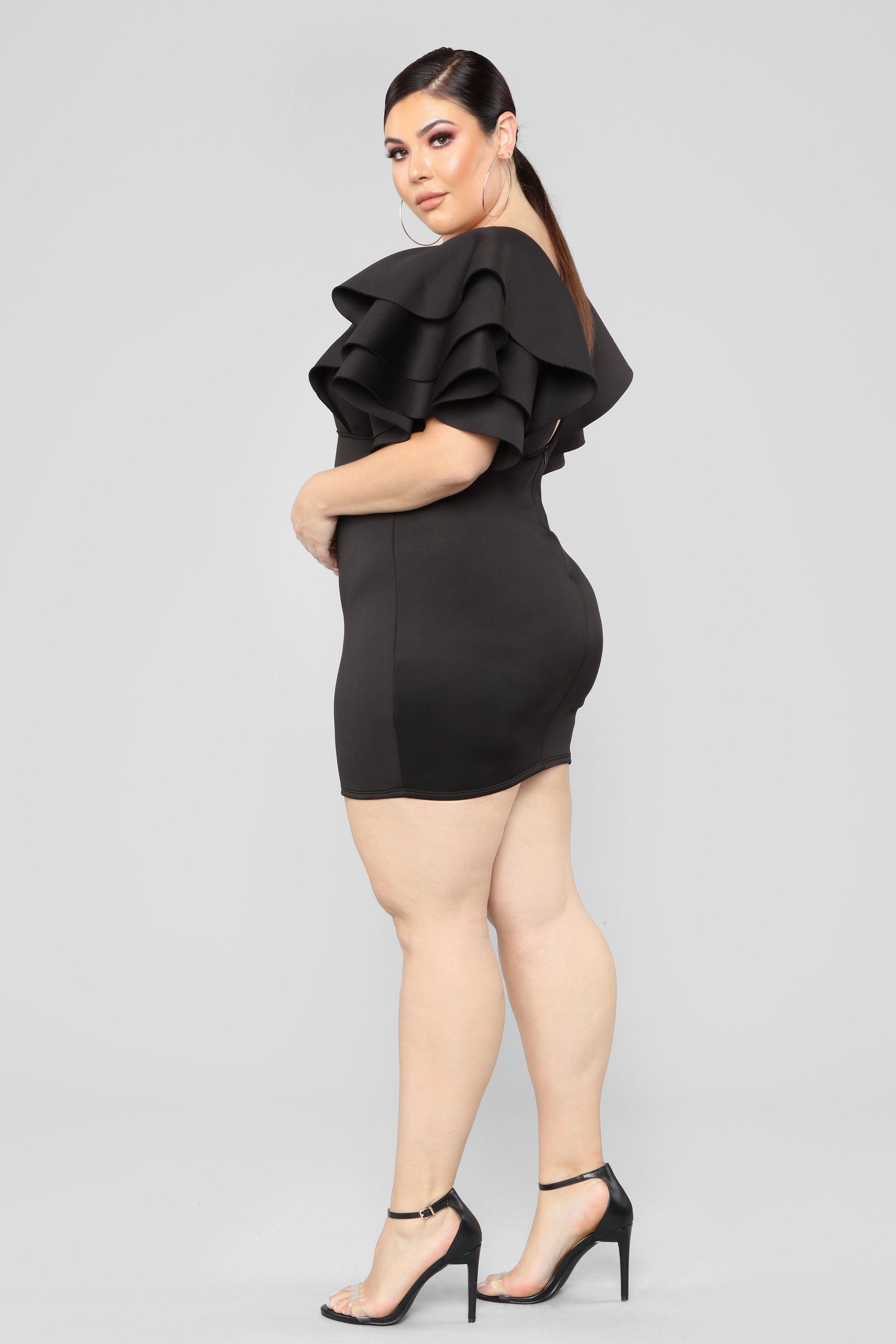 After Party Affair Mini Dress , Black