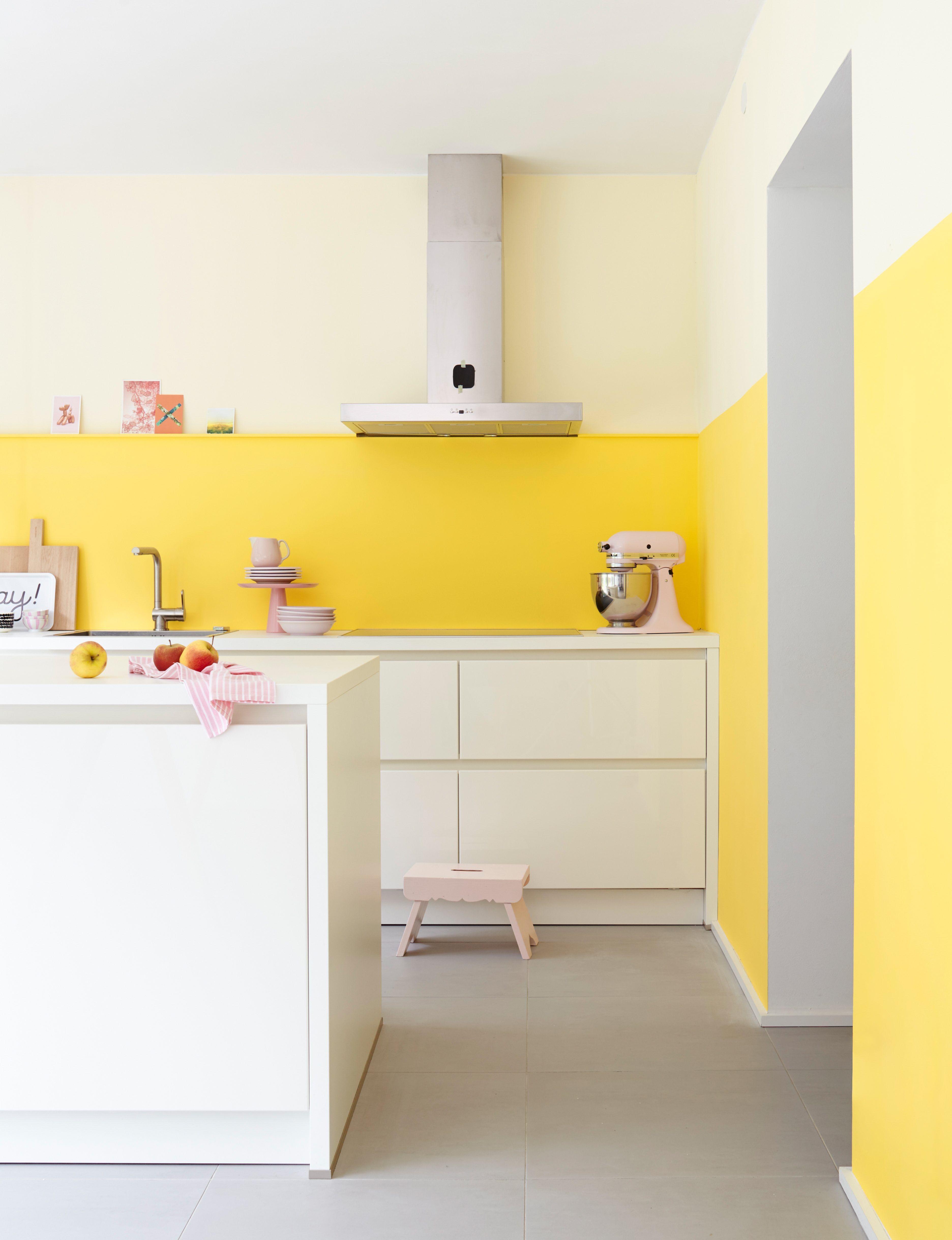 kuche renovieren ideen wandfarbe   küche farbe, küchen