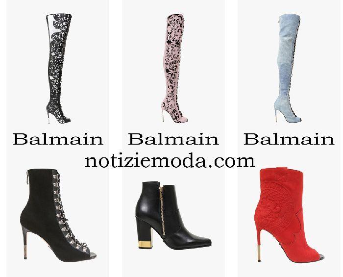 nuovo di zecca 3f574 537c9 Stivali Balmain 2018 nuovi arrivi calzature moda donna ...