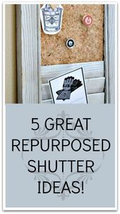 Photo of Five Great Uses for Old Shutters#great #shutters#great #shutters #shuttersgreat …