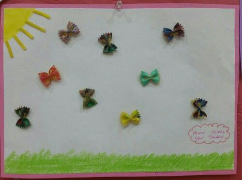 Makarnadan Agac Yapimi Okuloncesitr Preschool