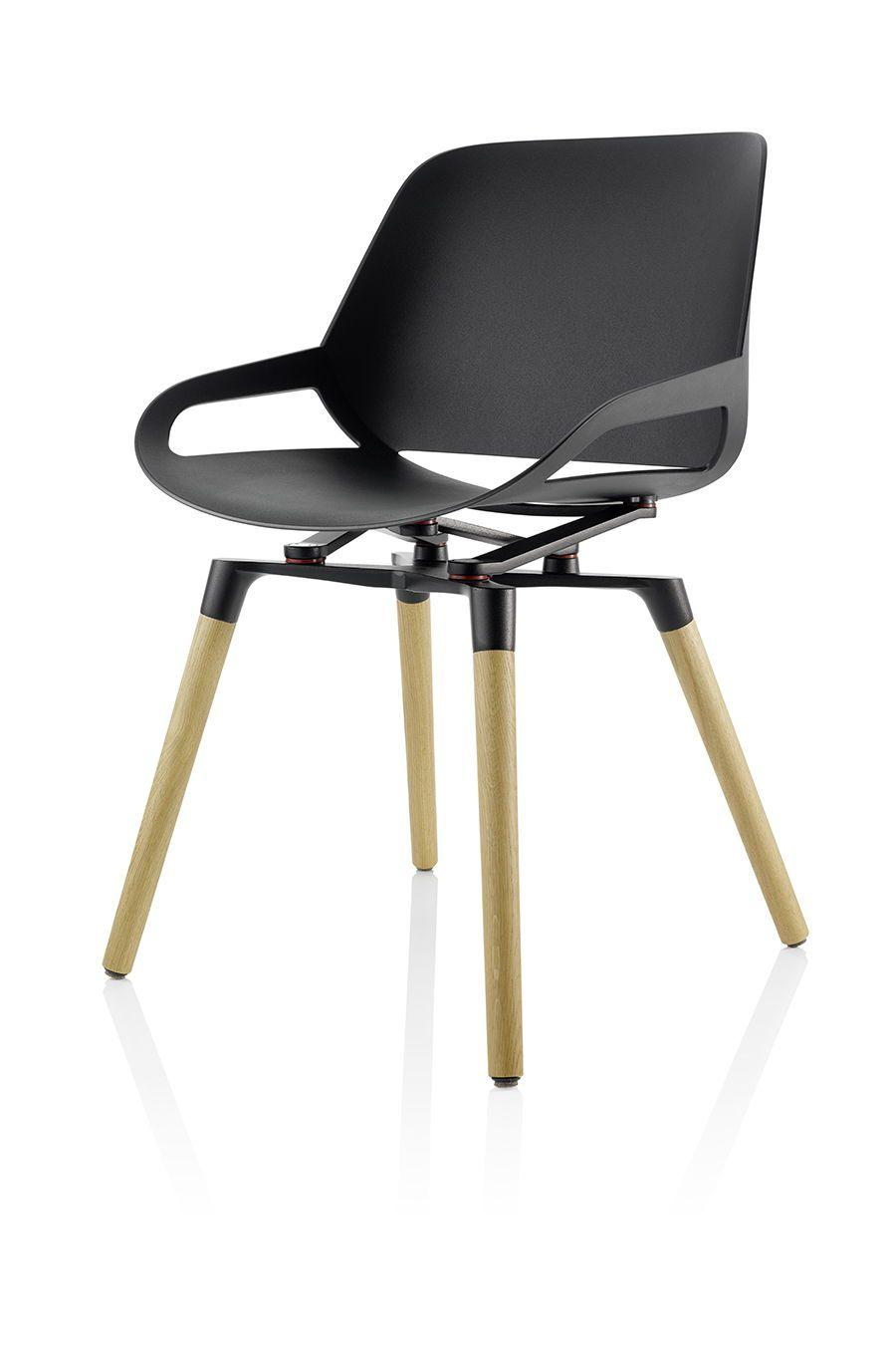 Stuhl mit Holzbeinen im klassischem Design: oyo. Der ...