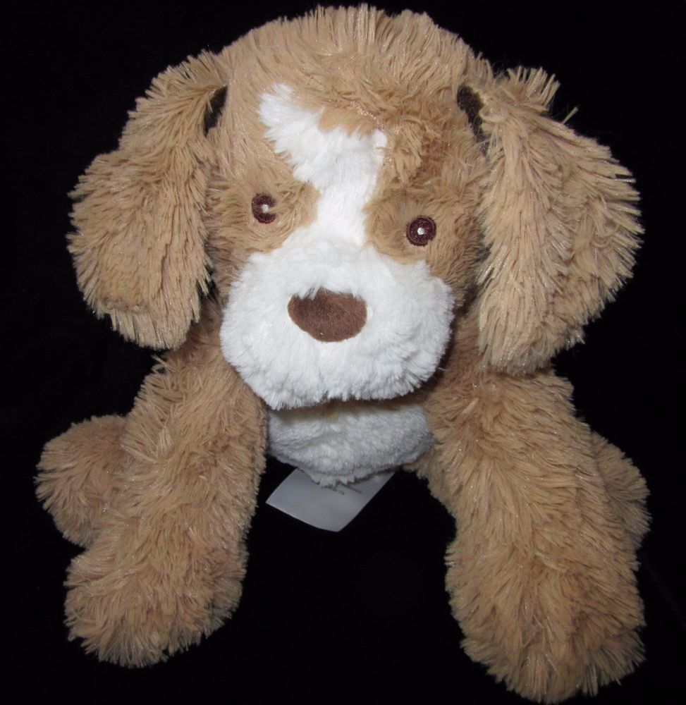 Little Miracles Tan Brown White Puppy Dog Plush Soft Toy Costco Stuffed Animal White Puppies Bear Plush Animals [ 1000 x 973 Pixel ]