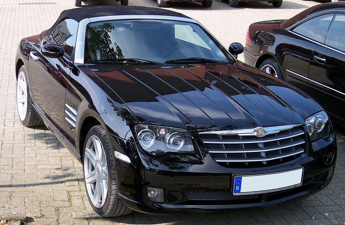 Chrysler Crossfire U2013 Vikipedija