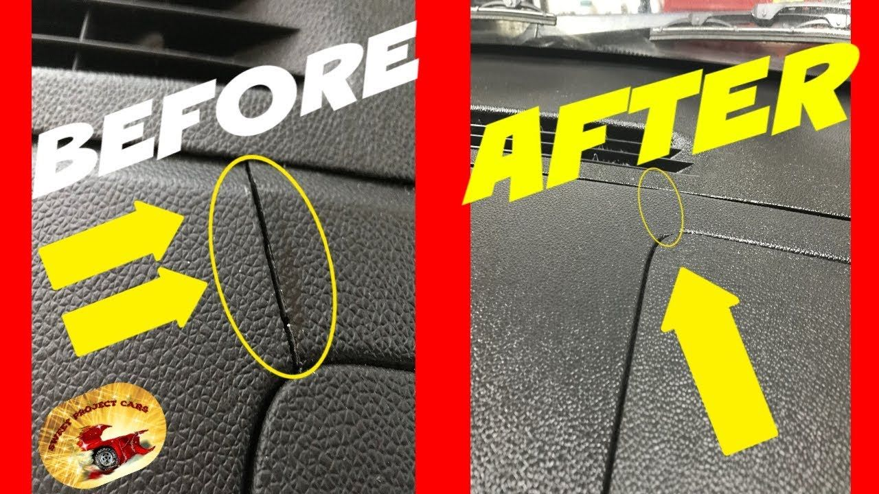 How To Repair a CRACKED DASH or Cover IT UP! YouTube