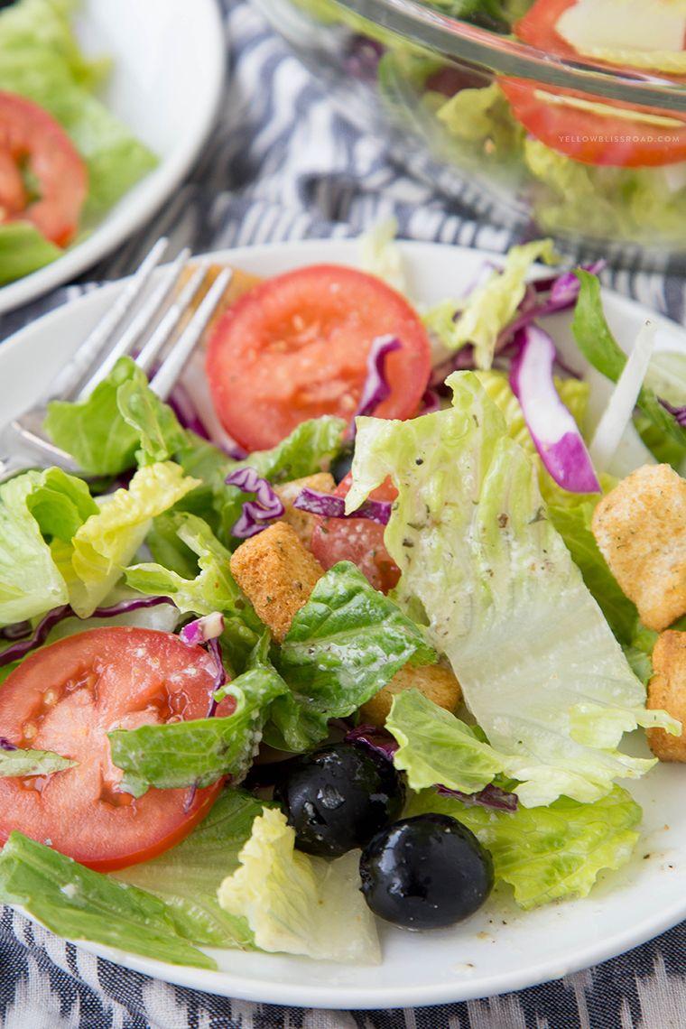 copycat olive garden salad yellow bliss road - Olive Garden Salad