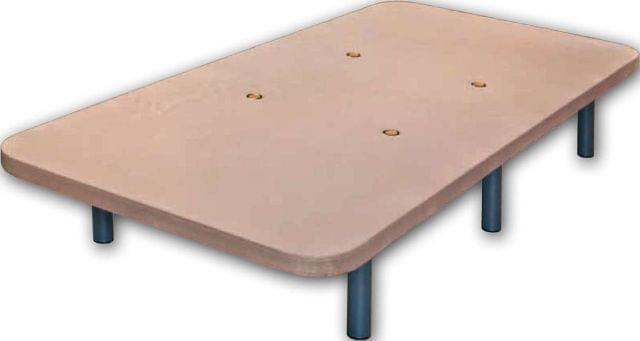 . Bases tapizadas de gran calidad, transpirables
