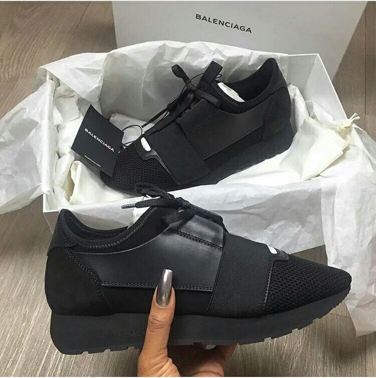 Balenciaga Runners Noir Tennis Motivation Pinterest Shoes