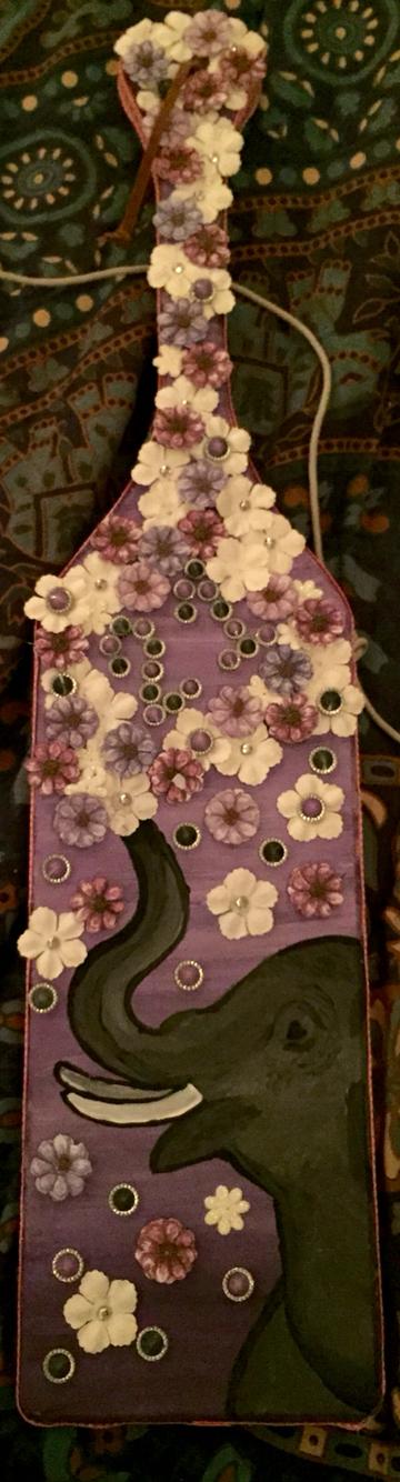 #21paddle #sororitypaddle #handpaintedpaddle #decorativepaddle