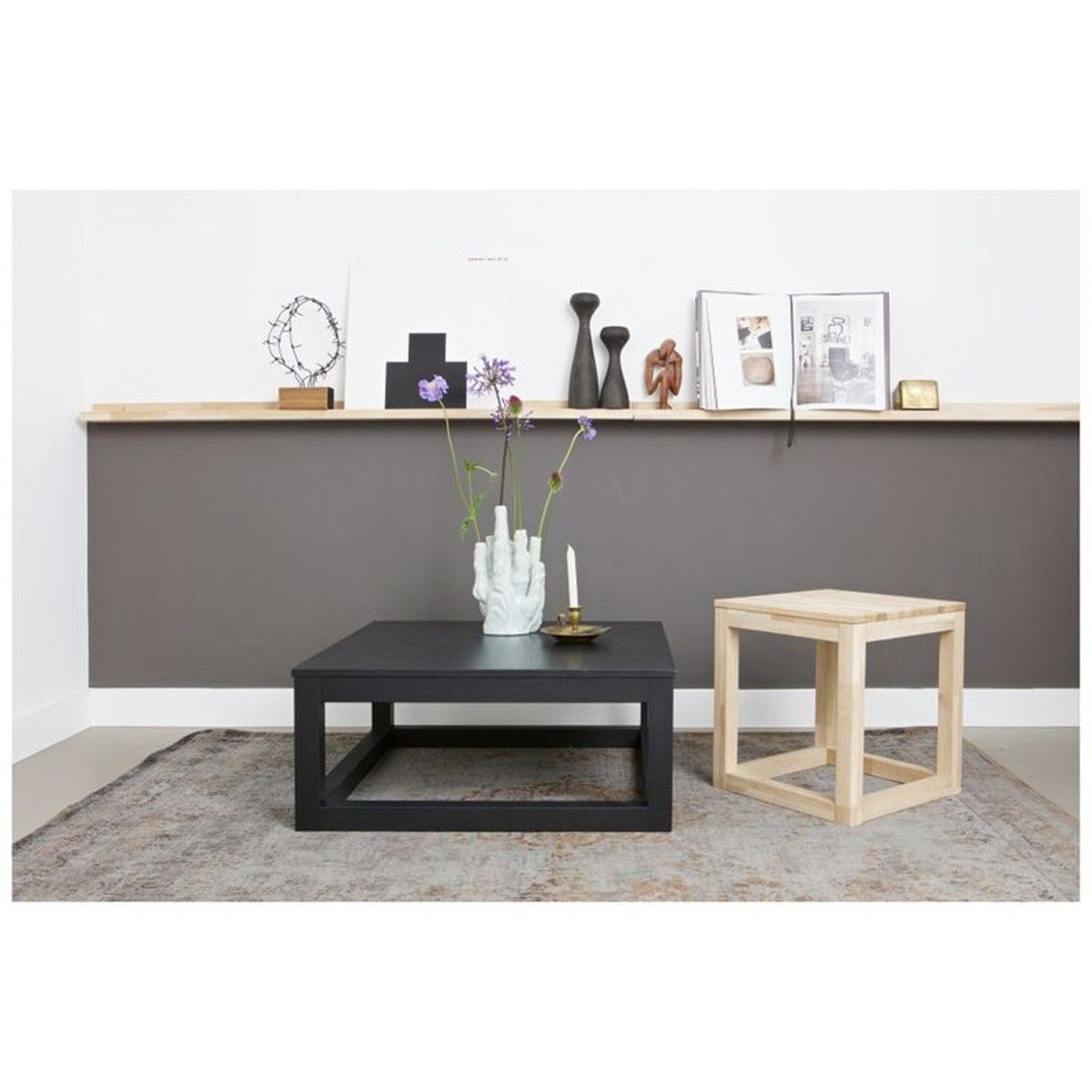 Wout Table Basse Chene Massif 85x85 Avec Images Table Basse Table Basse Chene Massif Table Basse Chene