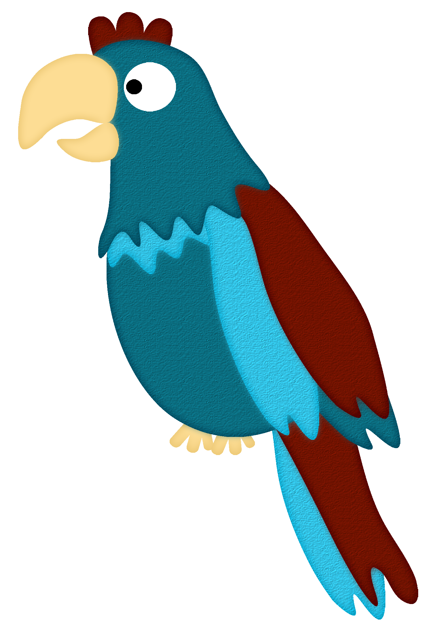 Pirate Parrot A Red Parrot Cartoon Wearing A Pirates Hat And Eye Patch And Poin Sponsored Parrot Cartoon W Parrot Cartoon Pirate Parrot Cute Drawings