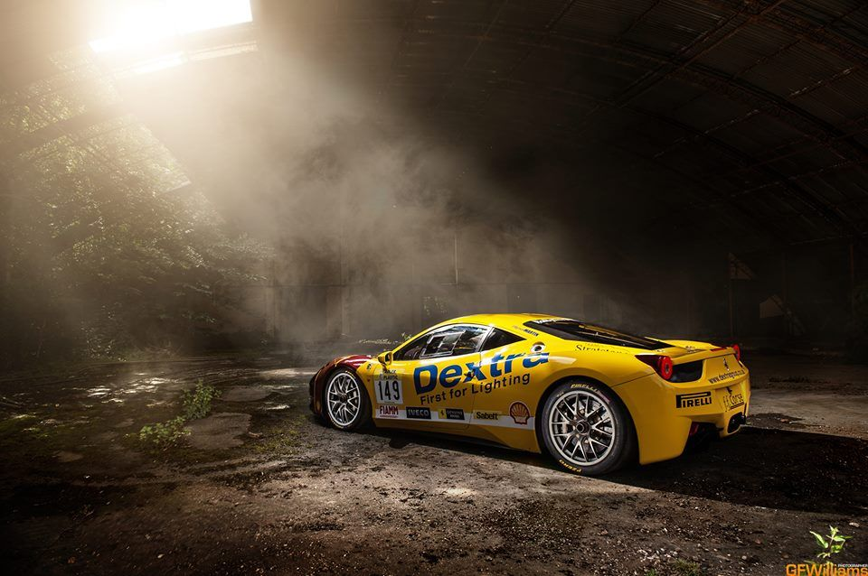 Ferrari 458 Challenge - image by gfwilliams.net - - #Ferrari #Ferrari458 #Challenge #BarnFind