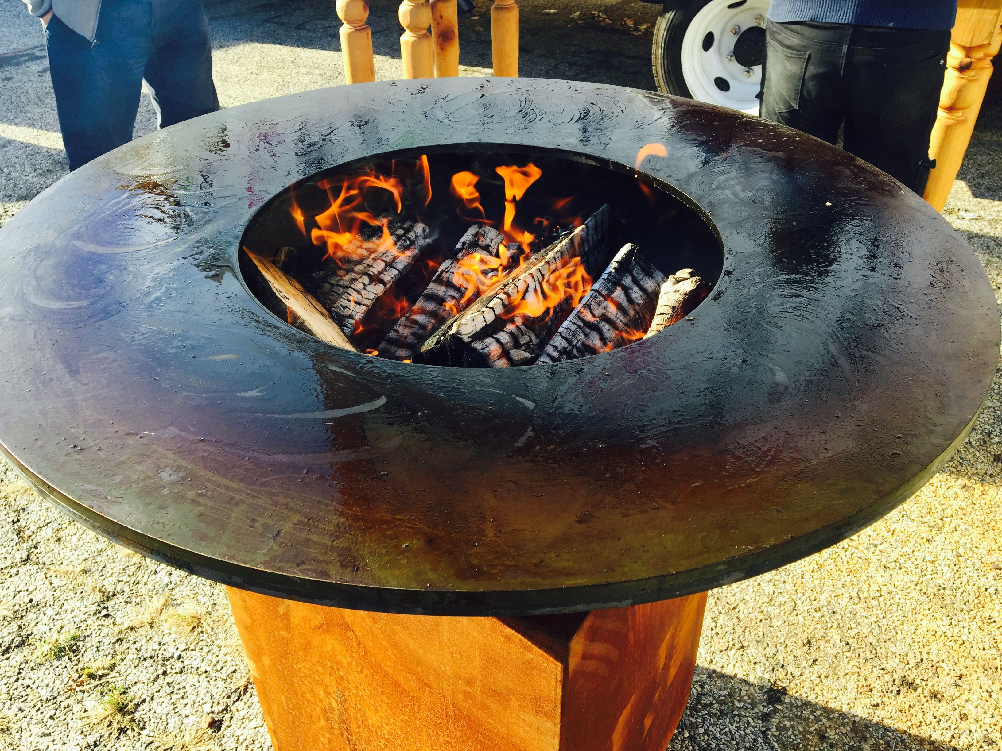 Ofyr Wood Burning Grill Available For Rent In The