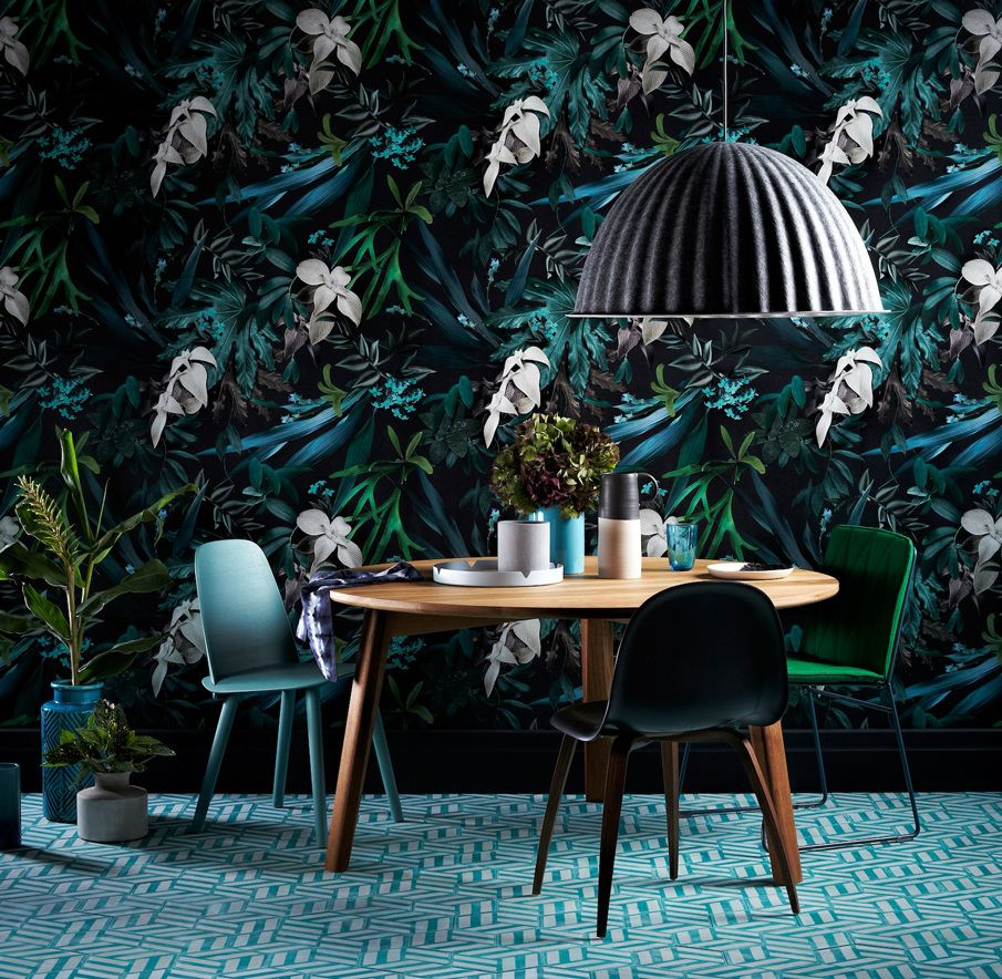 The Sunday Age M magazine  April 2015 Image courtesy and copyright of Fairfax Media.  Photography by Mike Baker  and styling by Ruth Welsby.  Wallpaper design by Louise Jones.