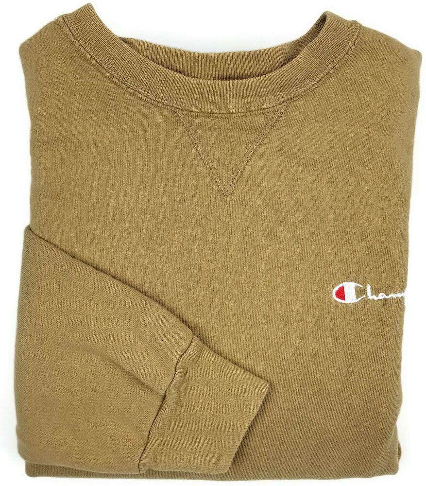 Vintage Champion Tan Sweater