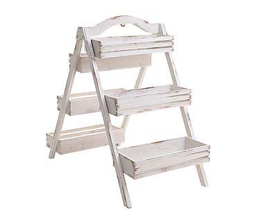 Estantería en forma de escalera para plantas