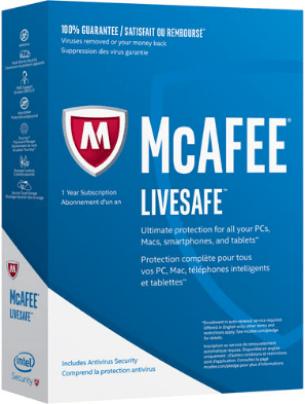 McAfee LiveSafe 2017 Serial Key + Crack Free Download