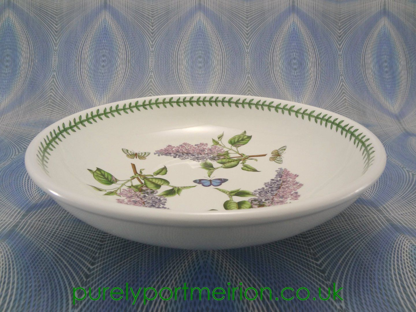 Portmeirion Botanic Garden 13 Inch Low Open Bowl (With