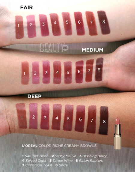 LOreal Glossy Balm Crayons + swatches | Affordable skin