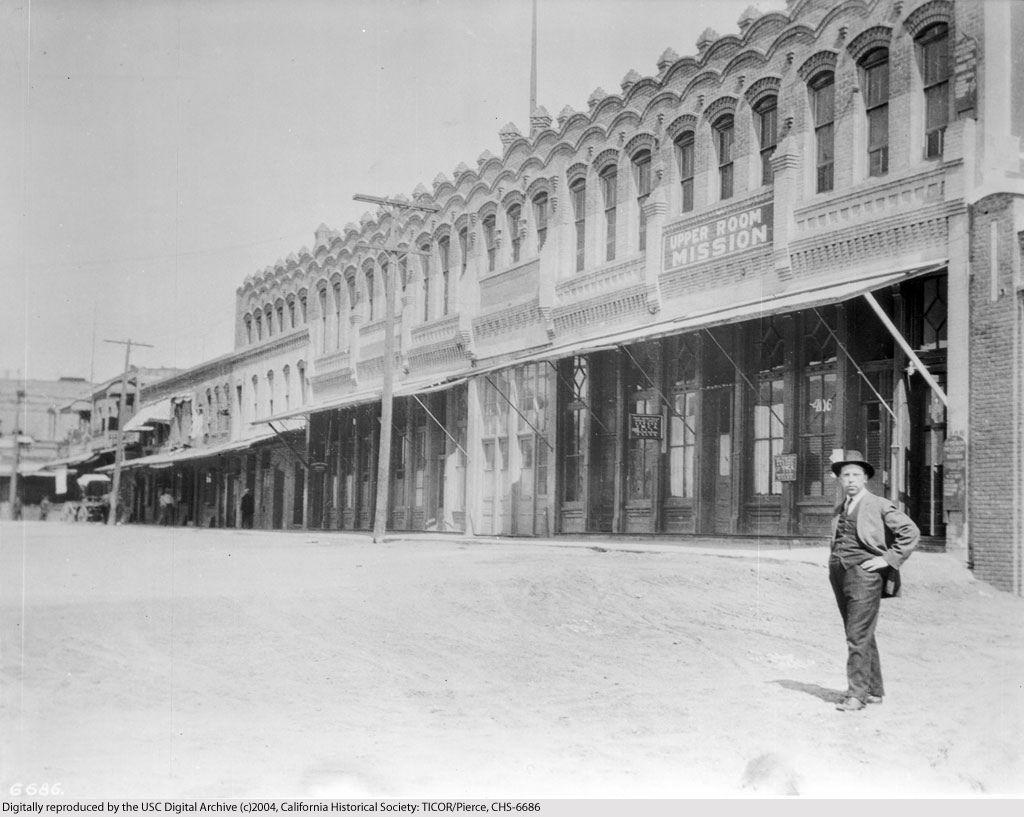 Calle De Los Negros In Chinatown Los Angeles C C Pierce Ca 1900 Chinatown Los Angeles Los Angeles History