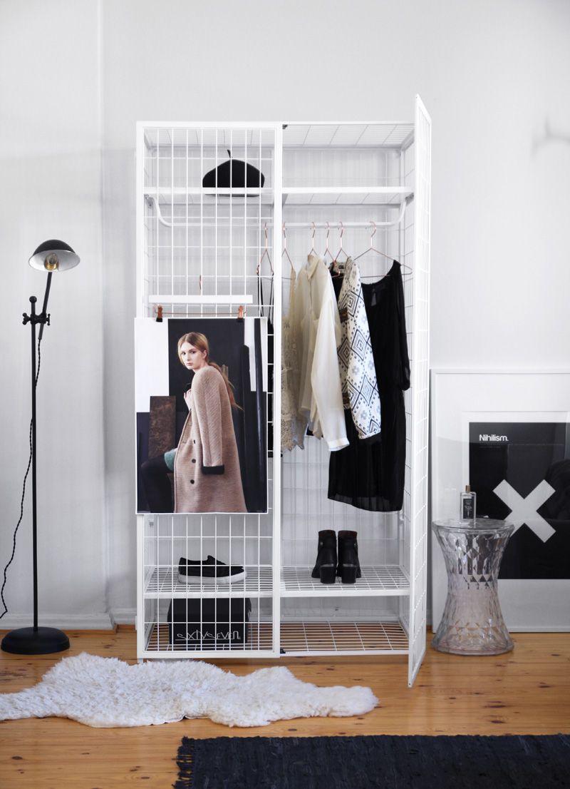 Matali Crasset Ikea Armoire Ps Noir Blanc White Black En