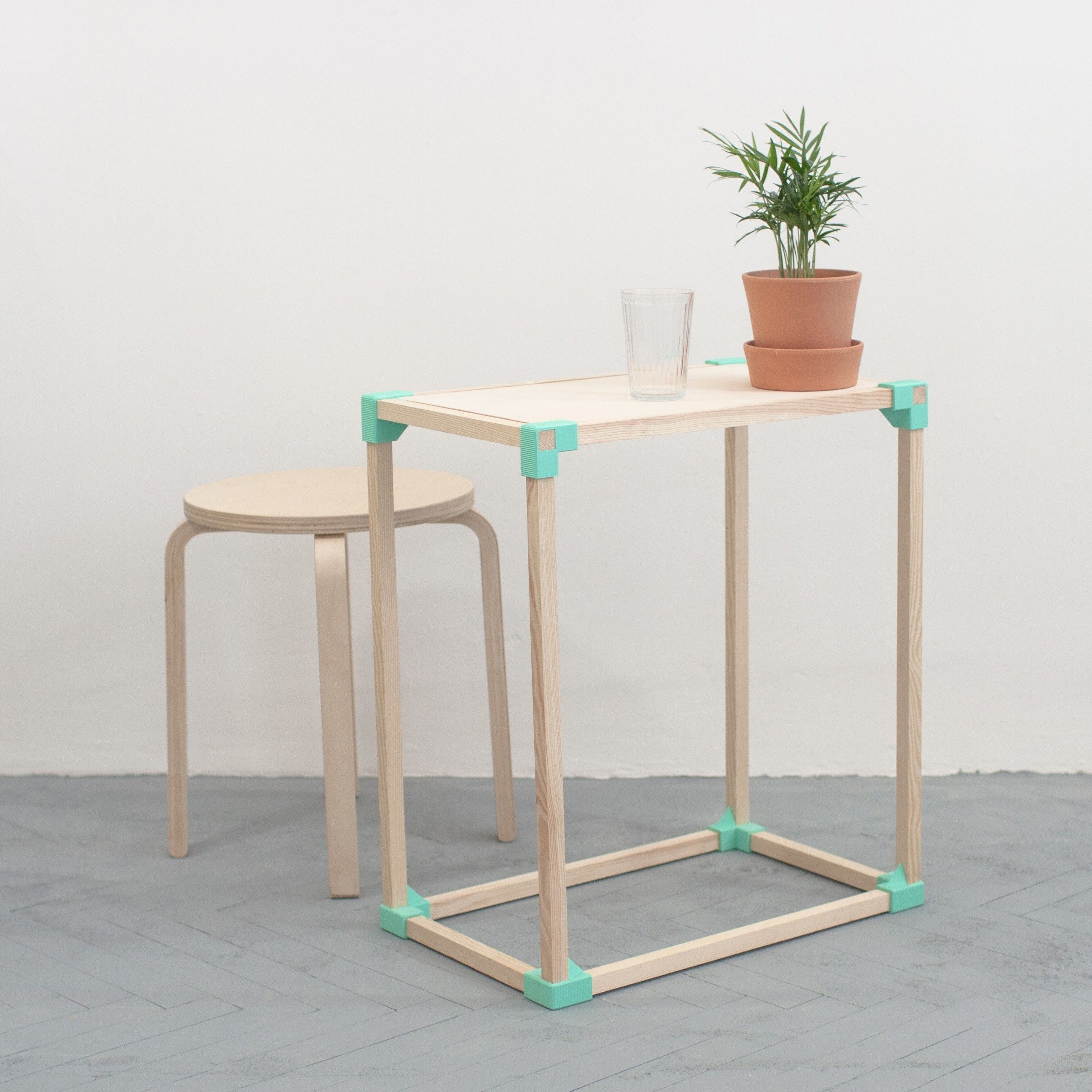 The SMF 0.2 Furniture Project Standing For Self Made