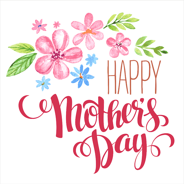 Flowers Printable Mother S Day Card Happy Mother S Day Card Mothers Day Cards Happy Mothers Day Clipart