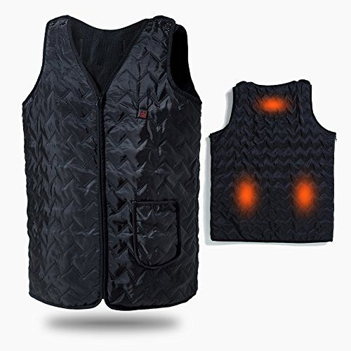 Heated Vest Vinmori Washable Size Adjustable Usb Charging Heated