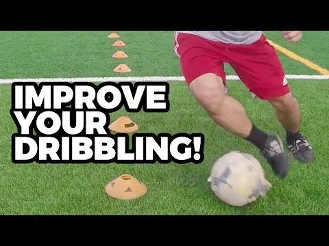 Individual Soccer Cone Dribbling Drills Youtube Soccer Training Soccer Dribbling Drills Soccer Training Drills