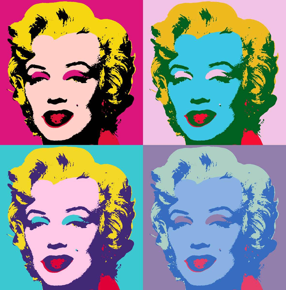 Is It Us Or Is It Society, Miss Monroe? Pop art marilyn