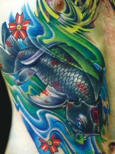 green koi fish tattoo meaning japanese designs tattoos green koi fish tattoo pinterest. Black Bedroom Furniture Sets. Home Design Ideas