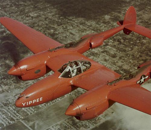 P38 Lightening Aircraft Cufflinks