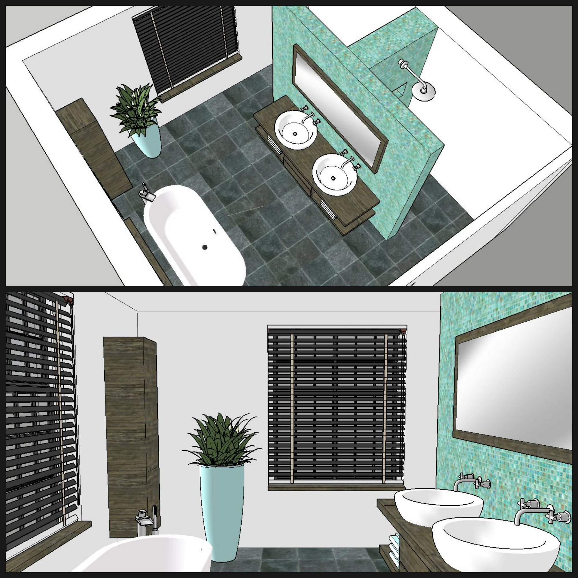 Badezimmer Einteilung T-Form | New home in 2019 ...