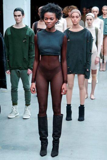 NYFW Kanye West   Adidas